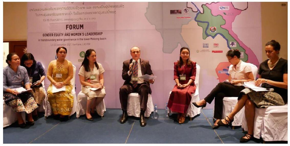 Regional Forum on Gender Equity and Women's Leadership in Transboundary Water Governance in the Lower Mekong Basin