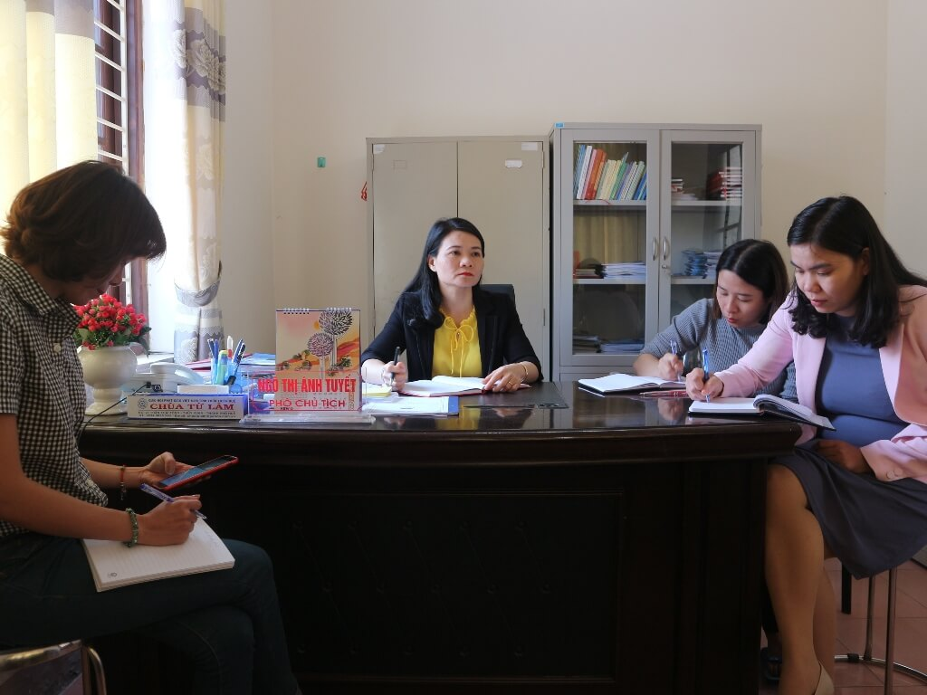 CSRD in partnership with Women's Union to implement activities in Thua Thien Hue Province