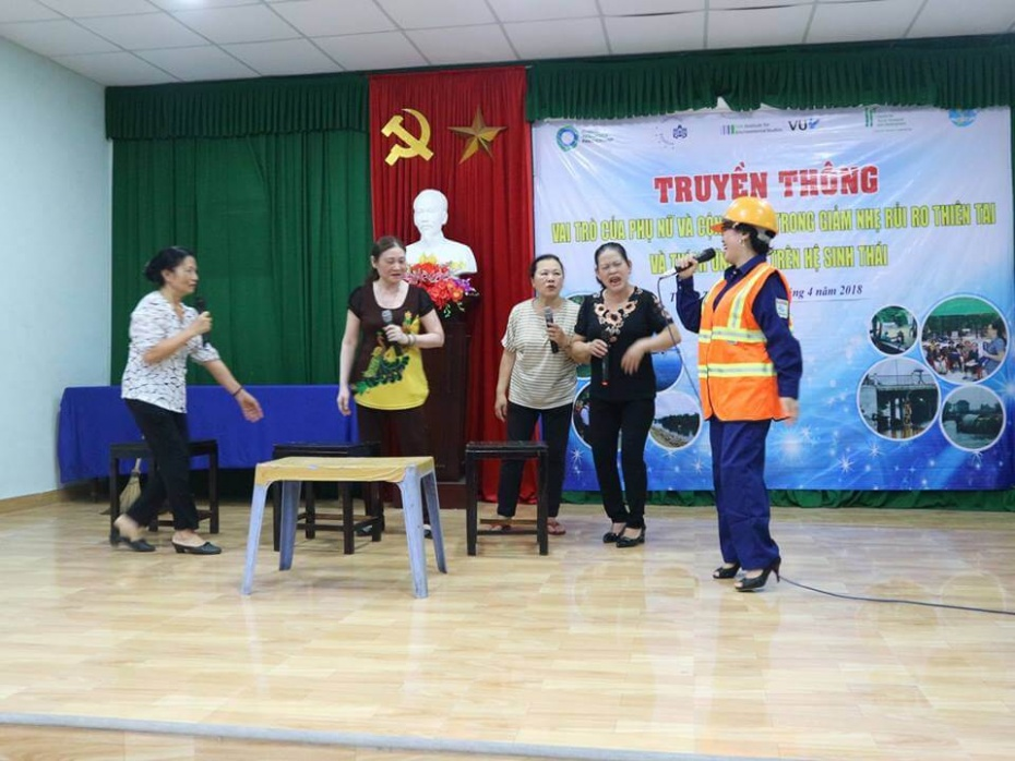 (Tiếng Việt) Phụ nữ với giải pháp tăng khả năng phòng chống giảm nhẹ thiên tai