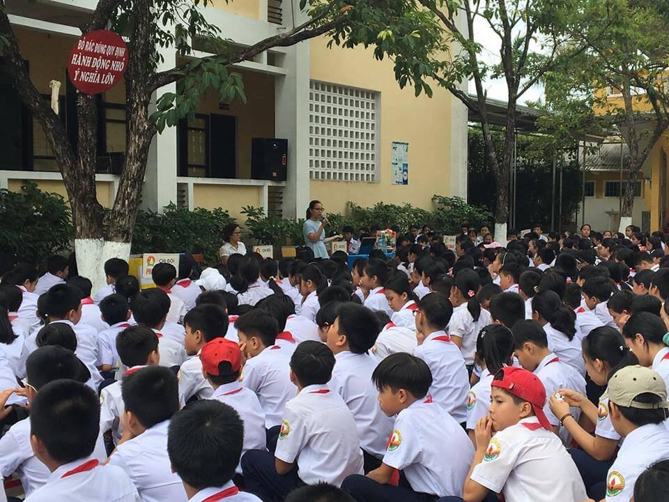 (Tiếng Việt) Hướng dẫn phân loại rác thải cho các bạn học sinh
