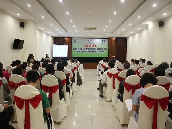 (Tiếng Việt) Hội thảo lồng ghép Giới trong các dự án phát triển