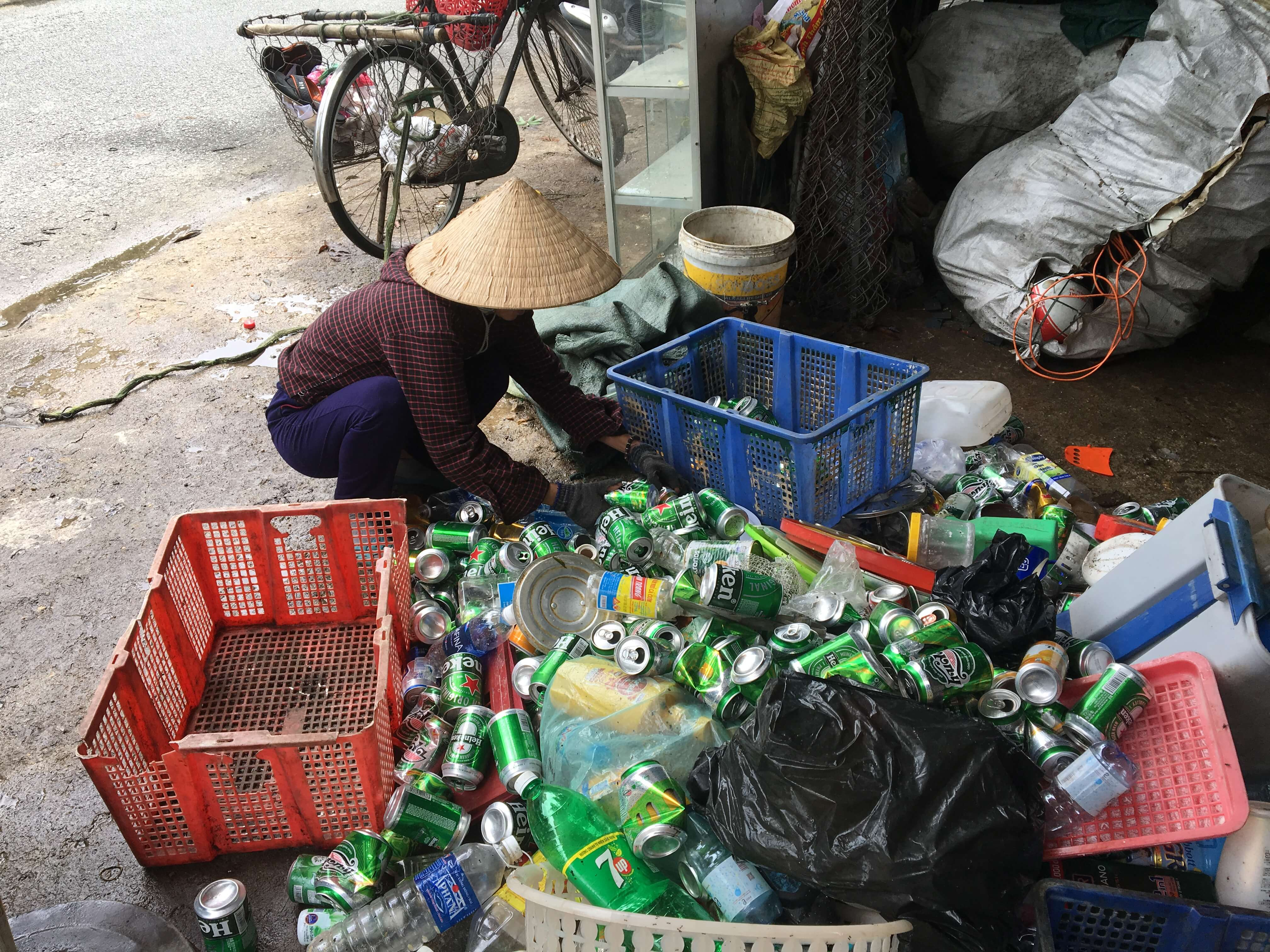 The research results about project The Value chain of recyclable in Hue City