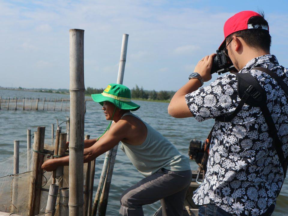 Chuyến thăm rừng ngập mặn của đoàn làm phim VTV1