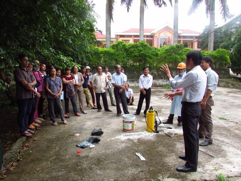 Reportage: Raising awareness about pesticides
