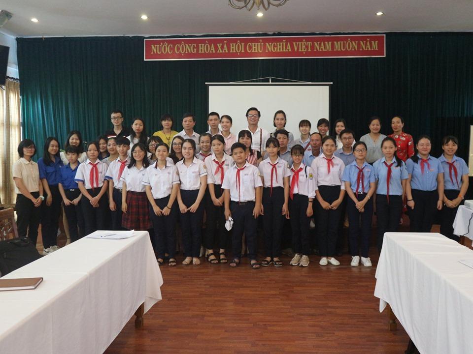Tổng kết dự án phân loại rác thải tại các trường học
