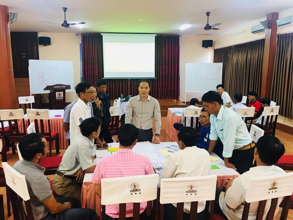 Cộng đồng tham gia tập huấn khởi nghiệp – xây dựng mô hình kinh doanh